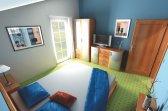 Vizualizace projektu Bungalov 13 - možné řešení interiéru