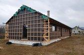 Postup výstavby bungalovu 5+kk v obci Nemojov (okres Trutnov)