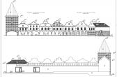 Výstavba městečka ve Fajnparku