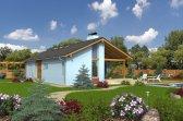 Vizualizace projektu bungalovu Uno 1 - varianty